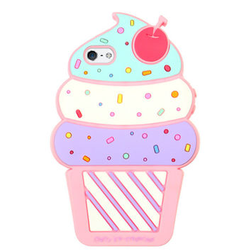 ICE CREAM CONE IPHONE CASE