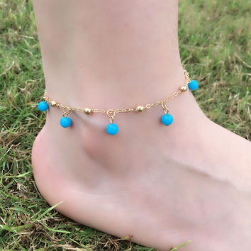 Gift Ladies Cute New Arrival Shiny Jewelry Sexy Accessory Star Stylish Anklet [8080501767]