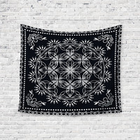 Mandal Peace Trendy Boho Wall Art Home Decor Unique Dorm Room Wall Tapestry Artwork