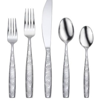 Oneida Gale 20 Piece Casual Flatware Set, Service for 4
