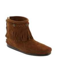 Women's Minnetonka Back Zip Ankle Boot,