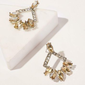 ccd67a6d6e Best Square Rhinestone Earrings Products on Wanelo