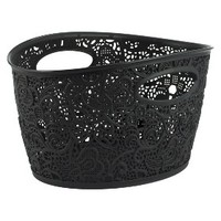 Xhilaration Medium Lace Oval Bin - Set of 3 - Assorted Colors