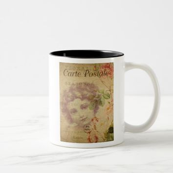 French Postcard Coffee Mug