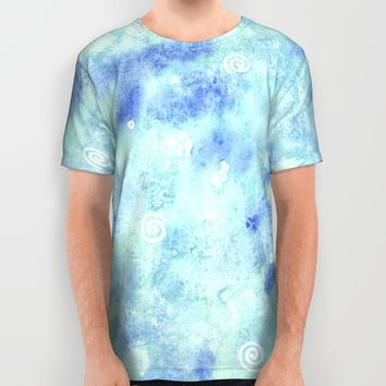 Blue lagoon All Over Print Shirt by Savousepate