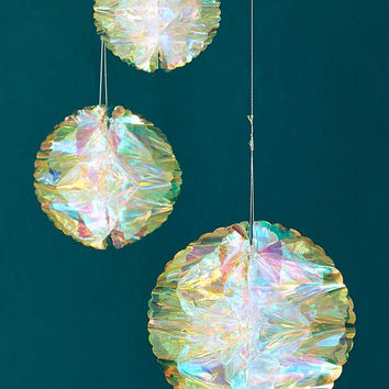Iridescent Honeycomb Decor Set - Urban Outfitters