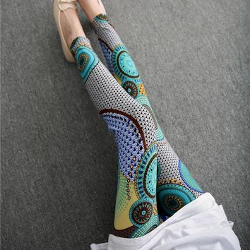 Bursting With Colors 23 Different Printed Leggings