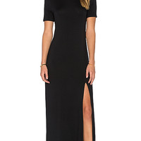Romee Maxi Dress in Black