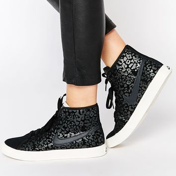 92f793245d75 Nike Primo Court High Top Black Print from ASOS