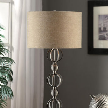 "Crestview Circles Table Lamp 33""Ht - CVAER354"