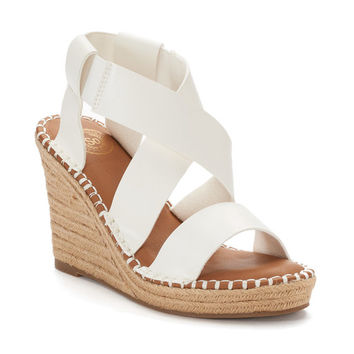 SO® Halibut Women's Wedge Sandals | null