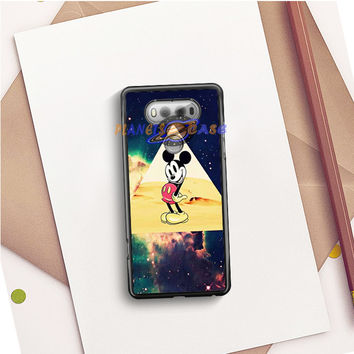 disney Mickey mouse Hipster Triangle Galaxy LG V20 Case Planetscase.com