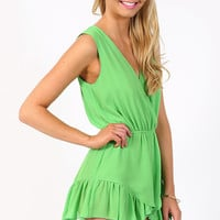 Green Envy Playsuit