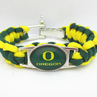 Oregon Paracord Bracelet