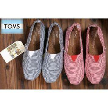 TOMS UNISEX FLAT SHOES FASHION LEISURE LOAFERS-4