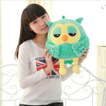 LMFUNT 20CM Popular Night Owl Plush Toy Baby Toys Stuffed Animal Doll 2 Colors Soft Baby Birthday Gifts Kids Toy PT041