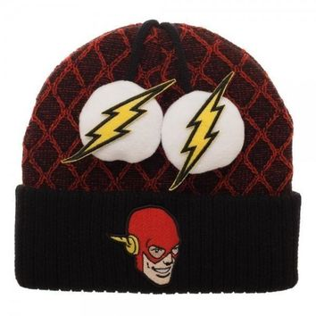MPB Flash Lightning Bolt POMS Beanie