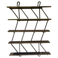 English Iron Harrow Shelf