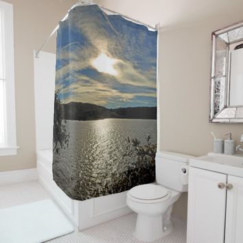 Sunset Kolob Lake Reservoir UT Zion Shower Curtain