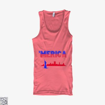 Merica, Independence Day Tank Top
