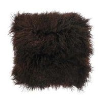 Chocolate Furry Pillow | Pieces