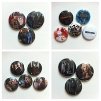 Sam and Dean Winchester Supernatural Collection -  This listing is for a Random Selection of Buttons