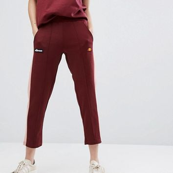 Ellesse Tracksuit Bottoms With Sports Stripe at asos.com