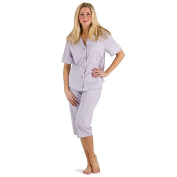 Women's EcoFabric™ Capri Pajama Set with Gift Box