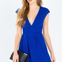 Jayla Textured Flare Dress