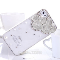 Mickey Mouse Diamond Phone Case for iPhone 6 Plus 5 5S  5C 4 4S Case