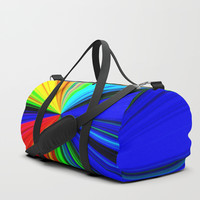 Colours of a Rainbow Duffle Bag by Chris' Landscape Images & Designs