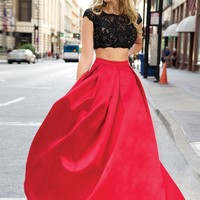 Two-Piece Ballgown 22897 - Prom Dresses