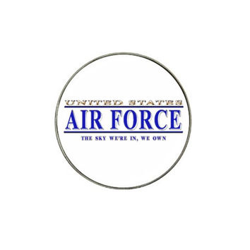 United States Air Force The Sky We're in We Own Hat Clip Ball Marker (10 pack)
