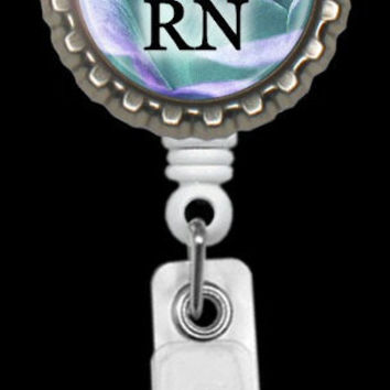 Personalized Retractable Badge Reels Medical,Nurses, Doctors Professionals,  Events Blue Red Purple Pink