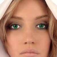 Mesmereyez Forest Green Coloured Contacts (Comfort) (Kit)
