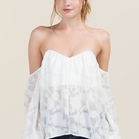 Nadia Sweetheart Off The Shoulder Top