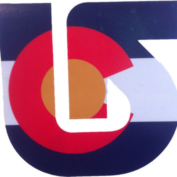 Burton Colorado Die Cut Stickers | Gravitee Board Shop
