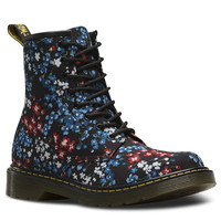 DR MARTENS YOUTH KELLY FLORAL DELANEY