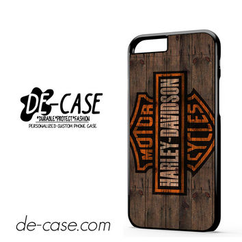 Harley Davidson Motor Cycles Wood Logo For Iphone 6 Iphone 6S Iphone 6 Plus Iphone 6S Plus Case Phone Case Gift Present