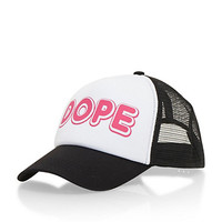 Trucker Hat with Dope Graphic