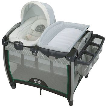 Graco Baby Pack 'n Play Playard Quick Connect Portable Bouncer Crib Bassinet NEW
