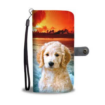Goldendoodle Wallet Case- Free Shipping
