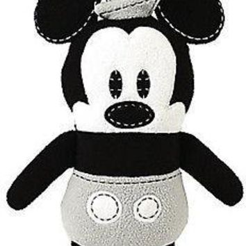 Licensed cool Disney Store Steamboat Willie Mickey Mouse Pook-a-Looz Stuffed Plush Doll Toy
