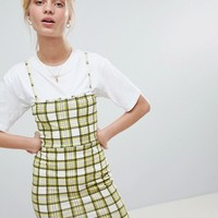 Daisy Street 90'S Cami Dress In Check at asos.com