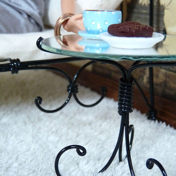 1/6 scale Nightstand / Mirror Table for dolls(Blythe, Barbie, Bratz, Momoko). French style