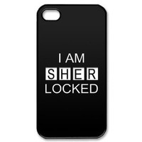 Custombox Sherlock Iphone 4/4s Case Plastic Hard Phone case-iPhone 4-DF00951