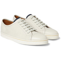 John Lobb - Leather Low-Top Sneakers | MR PORTER