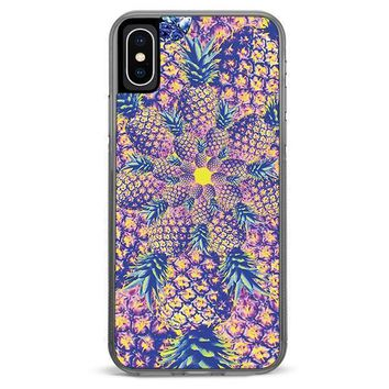 Pineapple Spiral iPhone XR case