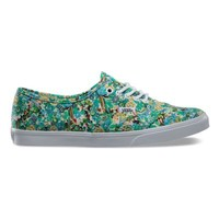 Vans Ditsy Floral Authentic Lo Pro (pool green)