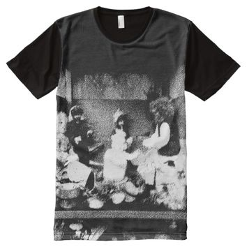 Black and white photo All-Over-Print T-Shirt